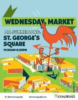 Downtown Guelph Wednesday Market Vendor Recruitment – Apply now!
