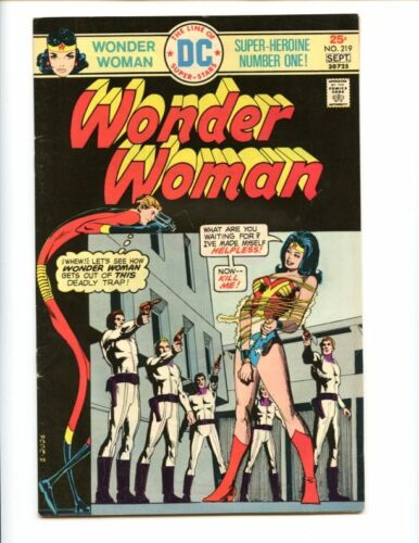 Wonder Woman 219 yet another bondage cover! Elongated Man