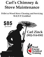 Pellet or Wood stove cleaning