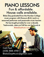LEARN PIANO AT HOME! Great Rates / 50% off first lesson