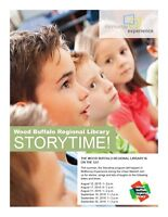 Wood Buffalo Regional Library Storytime at McMurray Experience