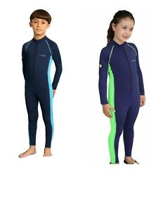 Girls-UV-Sun-Protection-One-Piece-Swim-Suit-Stinger-Suit-ECOSTINGER