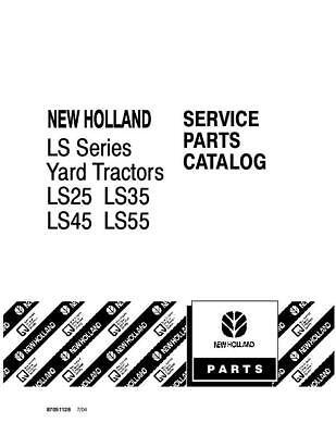 New Holland Ls25 Ls35 Ls45 Ls55 Yard Tractor Parts Catalog