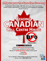 Leading Canadian Call Centre Hiring.