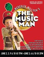 "Meredith Willson's ""The Music Man""-SEE DATES/TIMES BELOW"