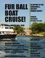 The FURBALL PARTY CRUISE  for animals is back!