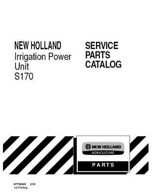 New Holland S170 Irrigation Power Unit Parts Catalog