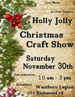 Holly Jolly Christmas Craft Show!