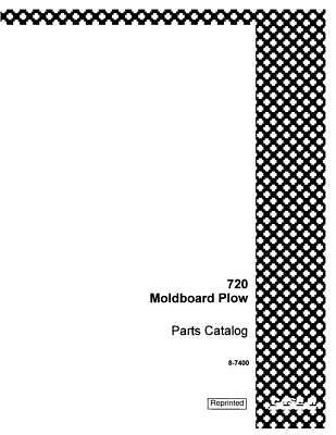 Case Ih 720 Moldboard Plow Parts Catalog