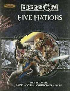 Brand New Mint Eberron Five Nations Hardcover D & D Book