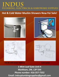 HAND HELD BIDET SHOWER SPRAY(MUSLIM SHOWER)