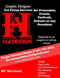 Flyers, posters , Postcard, advertisement designing