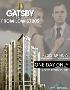 LUXURY CONDOS STARTING FROM LOW $200s