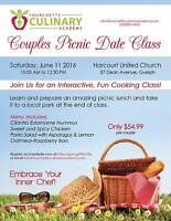 Couples Picnic Date Cooking Class
