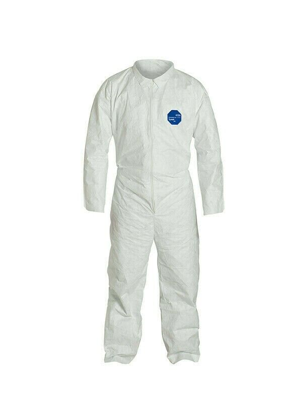 DuPont Tyvek 400 Coverall with Collar, TY120S, LG