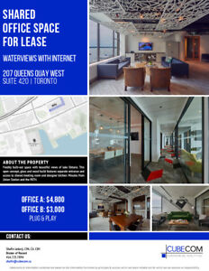 207 Queens Quay West Shared Office Space for Lease