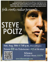Folk Roots Radio presents Steve Poltz