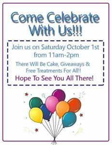 In Touch Chiropractic and Wellness Centre 1st Anniversary!