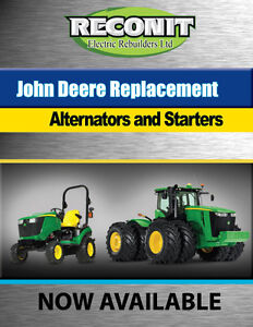 Farm Tractor Starter & Alternators
