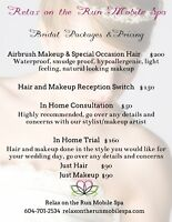 Bridal and Bridal Party Packages and Pricing