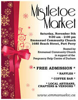 Mistletoe Market 2016 - Port Perry - Free Admission