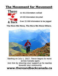 Help me Jog Across Canada - Over 22 000 km to travel.