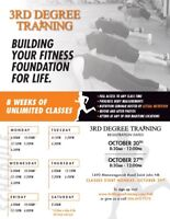 8-Week Fitness Camp - 3rd Degree Training **STARTS OCT 29**
