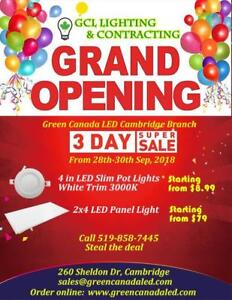 Green Canada LED New Branch Grand opening up to 50% Discount - 3 days sale starting from September 28th - $ 8.99