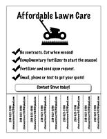 Affordable Lawn Maintenance