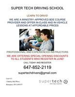 Get your G2, G License in One-Week/Super tech Driving School