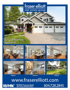 STUNNING custom luxury home in Tsawwassen!!