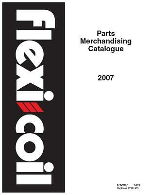Case Ih Flexi-coil Pc Merchandising Catalog 2007 Parts Catalog