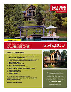 Cottage for sale in Calabogie