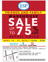 WAREHOUSE SALE - ELECTRONIC ACCESSORIES, DRINKWARE AND MORE!!