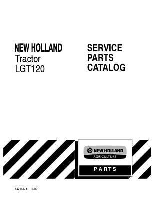New Holland Lgt120 Tractor Parts Catalog