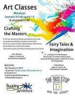 Children's Art Classes at the Bus Stop