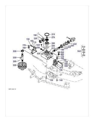 New Oem Kubota Gearbox Repair Kit K5361 33100 K5361 33103 Rck54 22bx Rck54