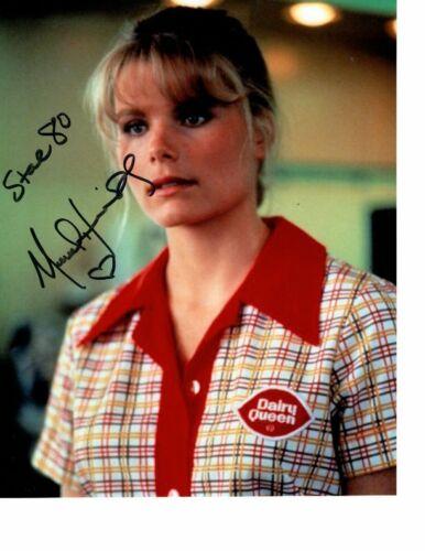 MARIEL HEMINGWAY signed autographed STAR 80 DOROTHY photo