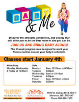NEW BABY AND ME FITNESS CAMP