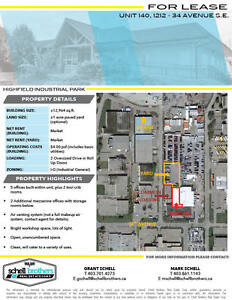 +-12,964 sqft Service Shop/Warehouse with +-1 Acre Yard
