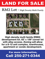 Multi Family Development Lot For Sale
