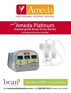 Ameda Platinum Hospital Grade Rental - FREE delivery & pickup