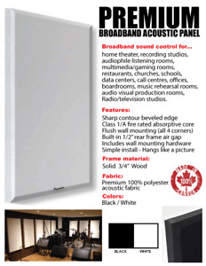 Acoustic Wall Panels & Tri-Corner Bass Traps / Room Treatment