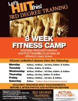 8-Week Fitness Camp - 3rd Degree Training