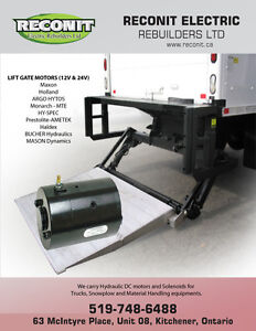 Hydraulic Lift gate motors