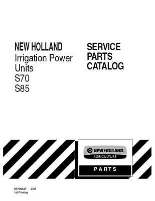 New Holland S70s85 Irrigation Power Unit Parts Catalog
