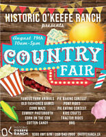 Country Fair Day at Historic O'Keefe Ranch!