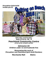 Quilting on Beach 2016