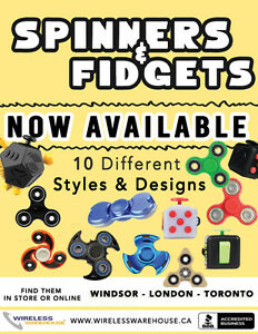 Fidget Spinners Now in Stock @ Wireless Warehouse Argyle Mall