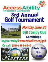 GOLFERS WANTED: 3RD ANNUAL KW-ACCESSABILITY GOLF TOURNAMENT!!